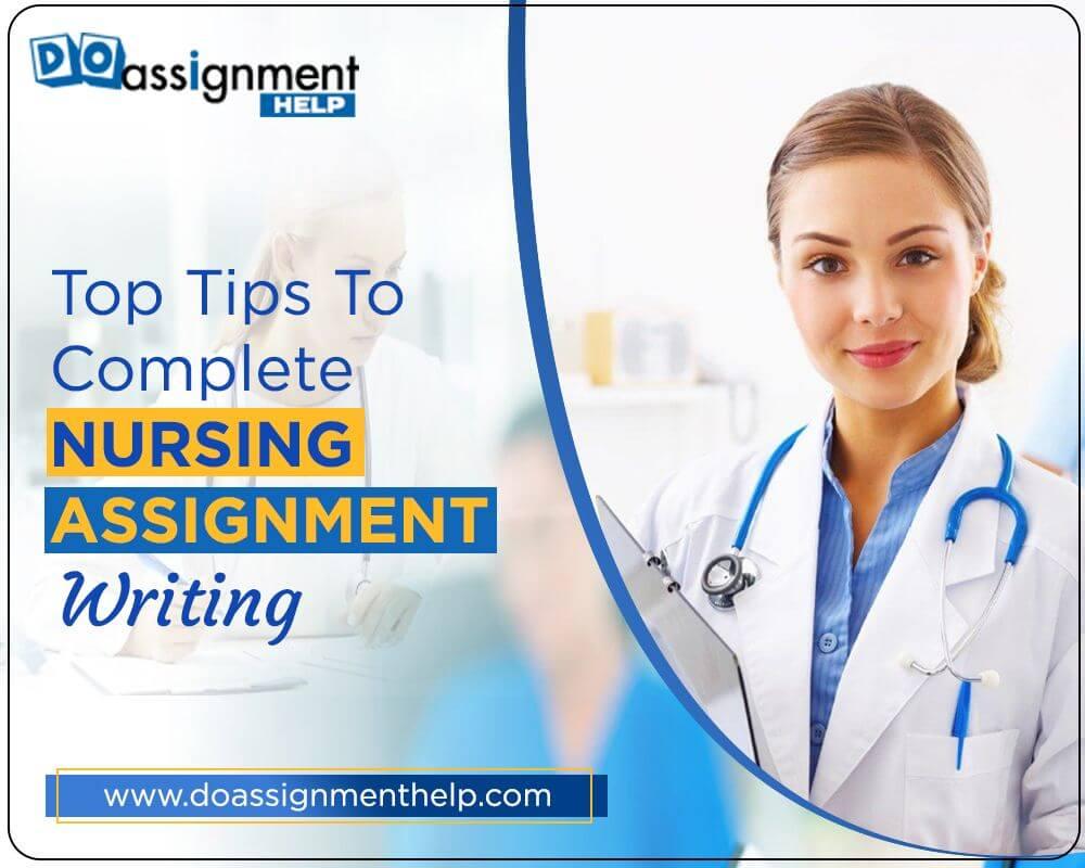 nursing assignment writing