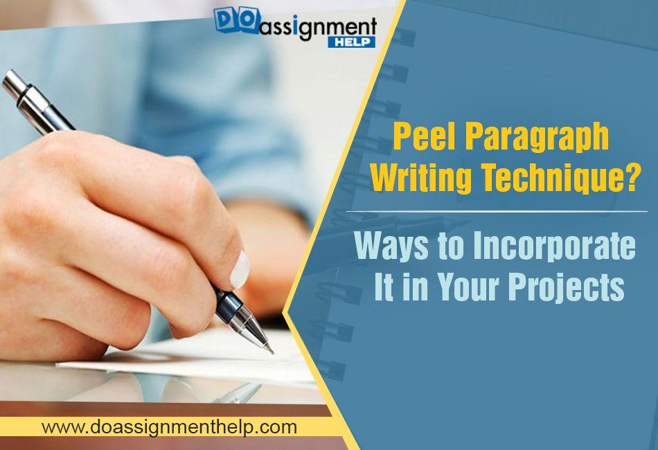 Peel Paragraph Writing