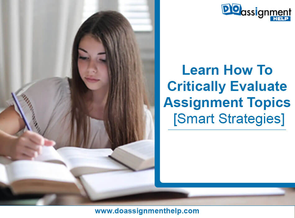 Assignment Writing Topics