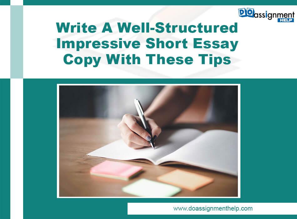 Well Structured Impressive Essay